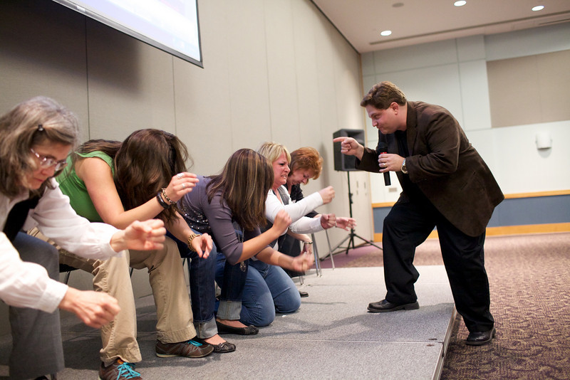 Cow Milking contest - These people are hypnotized